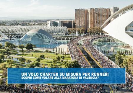 Come volare alla Maratona di Valencia con un volo charter su misura per Runner