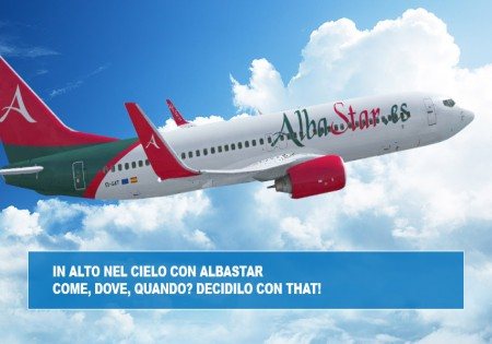 IN ALTO NEL CIELO CON ALBASTAR, COME, DOVE, QUANDO? DECIDILO CON THAT!